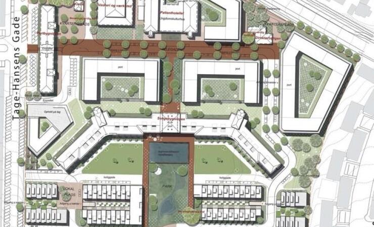 Mere grønt i nyt aarhusiansk bykvarter