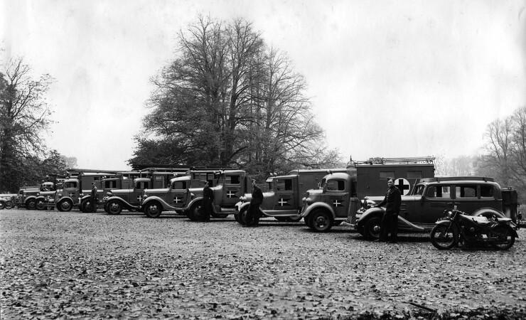 Under besættelsen II: 20.000 køretøjer på træ