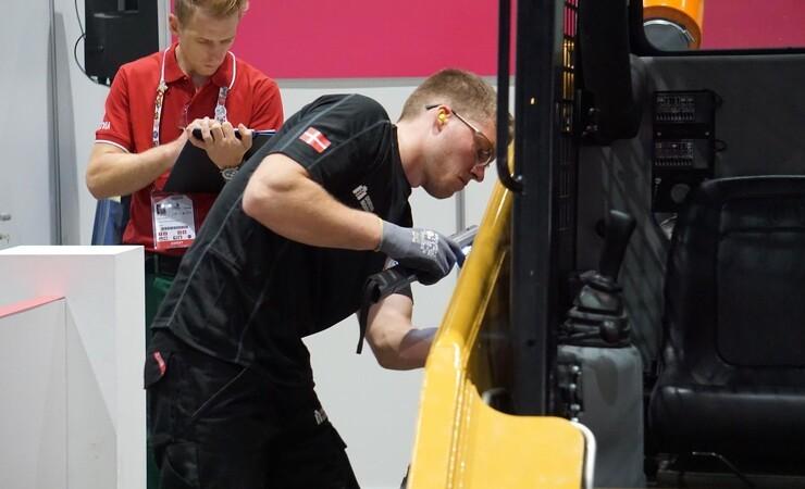 Maskinmekaniker vandt bronze ved World Skills