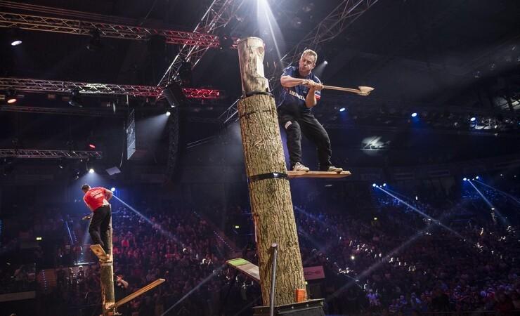 VM i Stihl Timbersports afgøres i weekenden