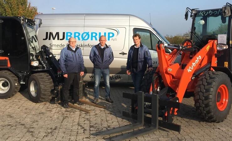 JMJ Brørup forhandler nu Kubota minilæssere