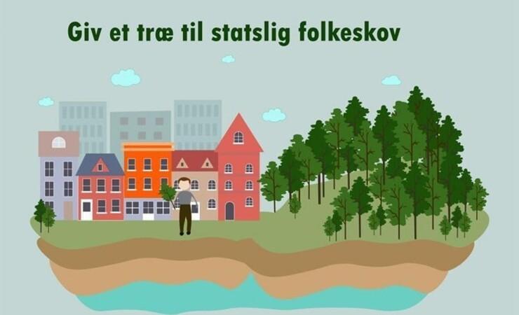 Flere træer til nye statslige folkeskove