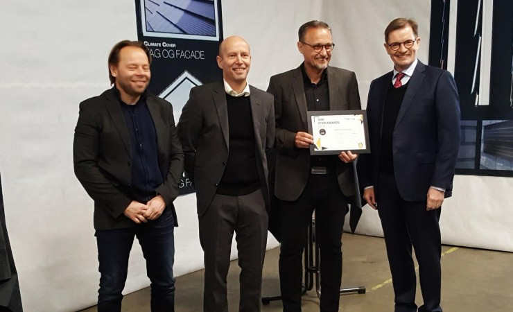 Europæisk pris til dansk facadevirksomhed