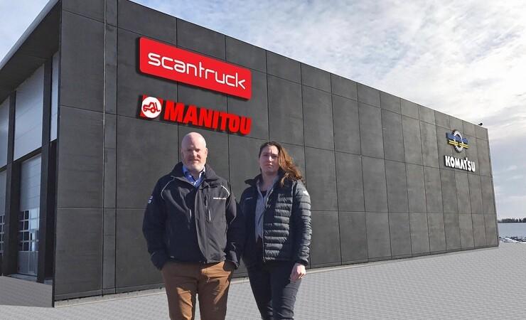 Scantruck slår dørene op i nyt hovedkvarter i Sverige