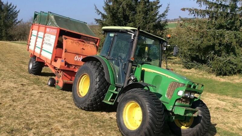 Landbrugsmaskiner klipper rough hurtigere