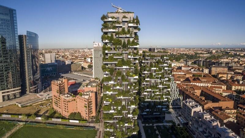 Vertikale skove skal ind i byerne