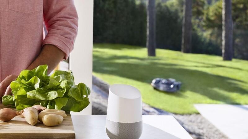 Robotplæneklipper kan stemmestyres