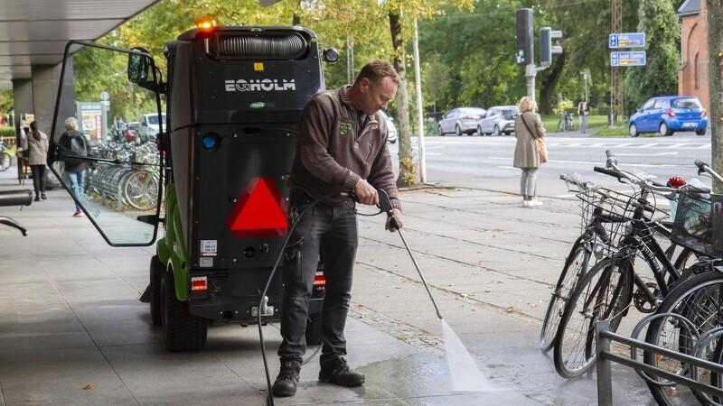 En ny ranger ryder gaden i Aarhus
