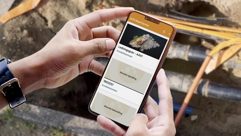 App til dataindsamling ved ledningarbejde vinder pris