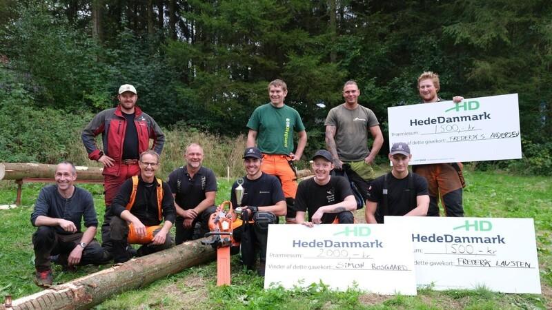 Danmarks bedste skovelever dystede på Langesømessen