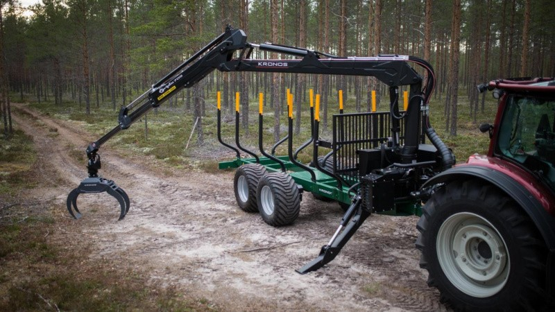 Ny teknologi i mindre skovkraner
