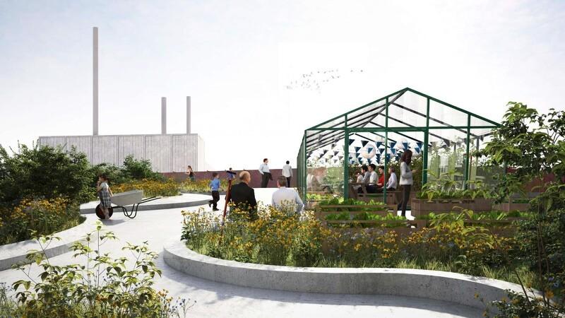 Nordland Arkitekter vil skabe grønt byrum oven på p-hus