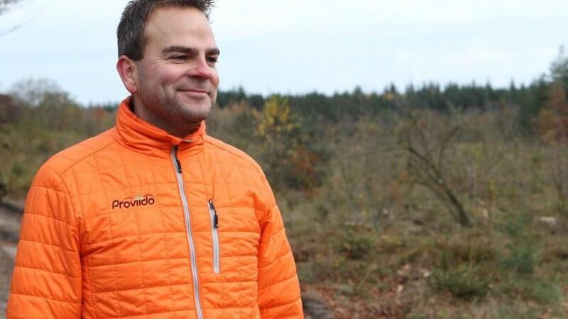 Martin hjælper med virkeliggørelse af skov-drømmene