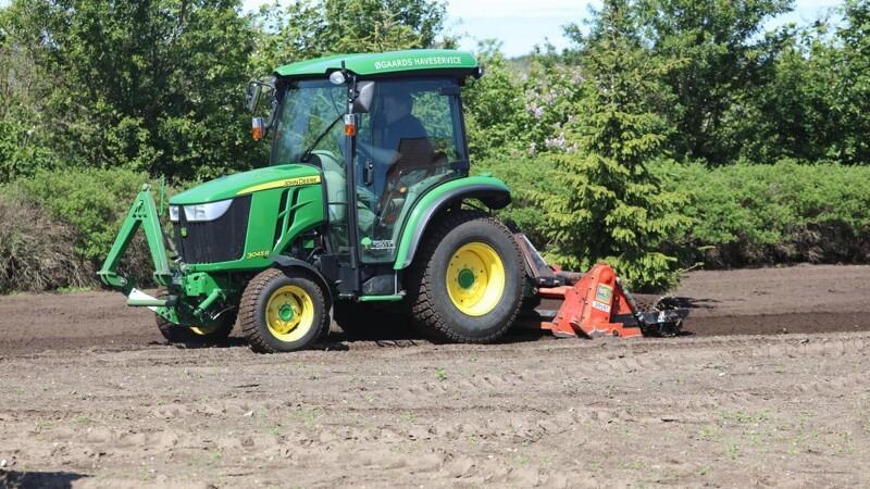 Faldende traktormarked for de mindste