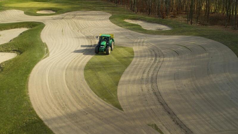 Golfbane klar til øget nedbør - og flere golfere