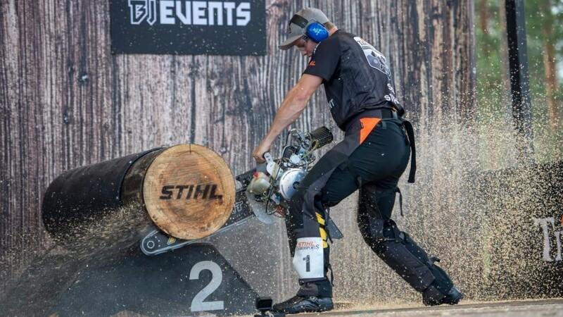 De bedste nordiske atleter vender tilbage til Stihl Timbersports 2021
