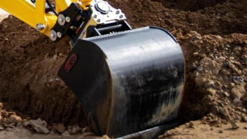 Gasledning ramt under gravearbejde