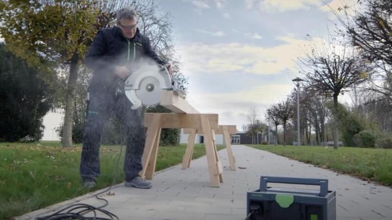 Strøm til elværktøjet - uden generator