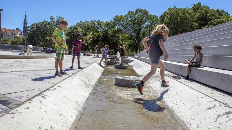 Vandet skaber mulighederne for fremtidens gulv i byerne