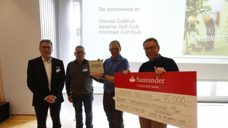 Asserbo Golf Club vinder natur- og miljøpris