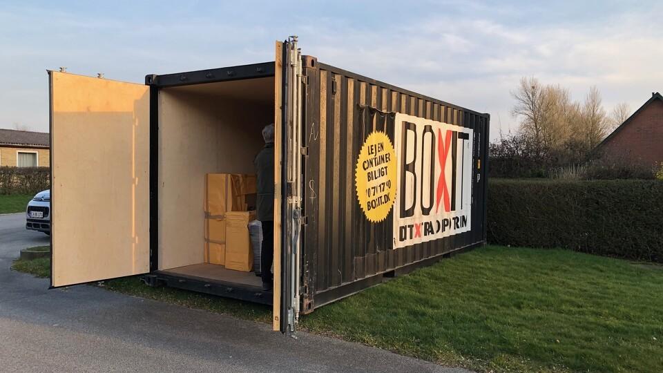 container til sluse